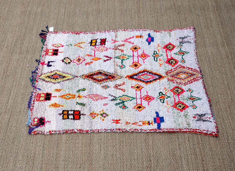 Boucherouite Tapis tapis boucherouite 190x140cm - deconomad