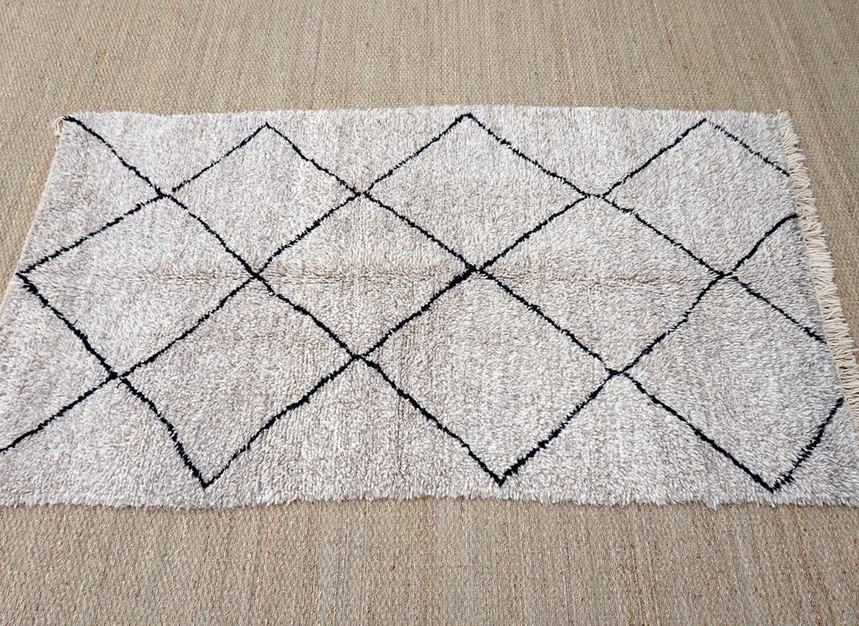tapis beni ouarain 275x158cm deconomad - Tapis Beni Ouarain