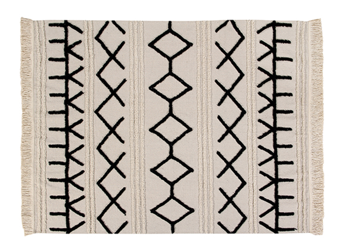 tapis rectangulaire canvas lorena canals petite taille deconomad. Black Bedroom Furniture Sets. Home Design Ideas